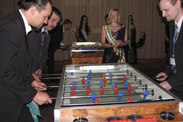 Mistrzostwa w piłkarzyki - zabawa w kasyno, kasyno na imprezy